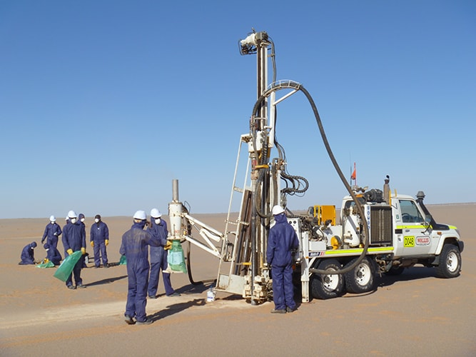 Aura Energy Uranium Tiris Mauritanie