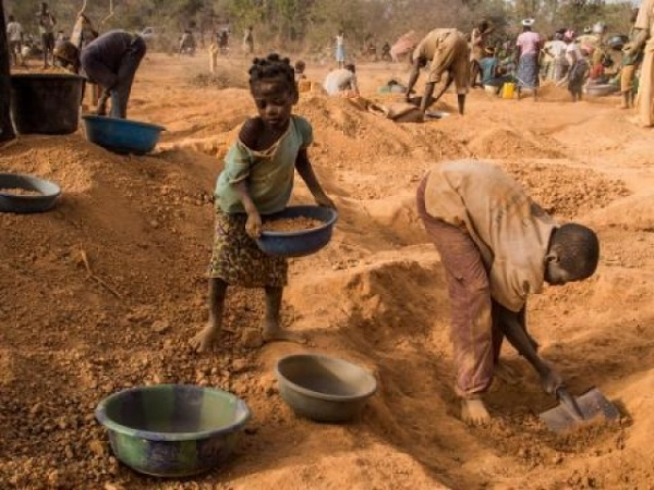Éboulement Mine d'or Burkina Faso