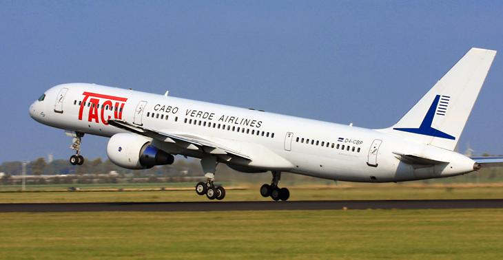 TACV Cap Vert Avion Panne