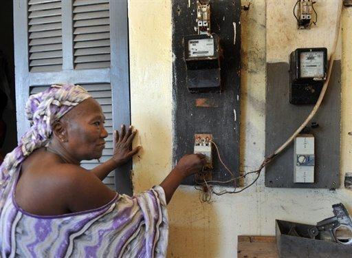 Guinée pénurie électricité crise