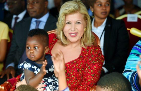 Children of Africa Dominique Ouattara