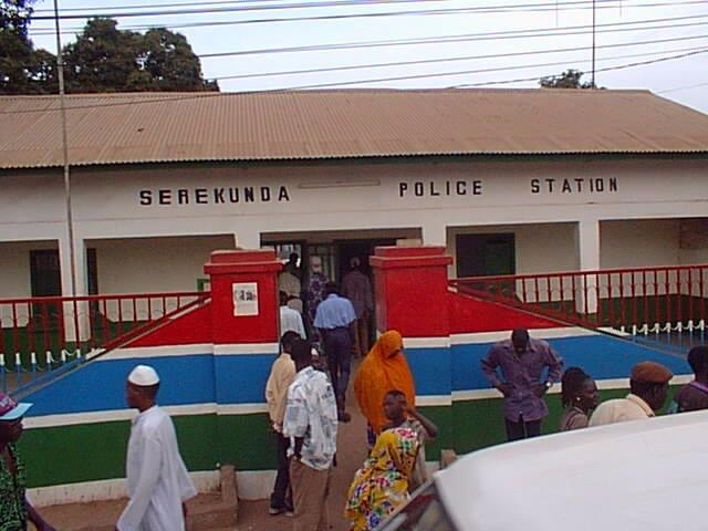 Gambie Police Banjul