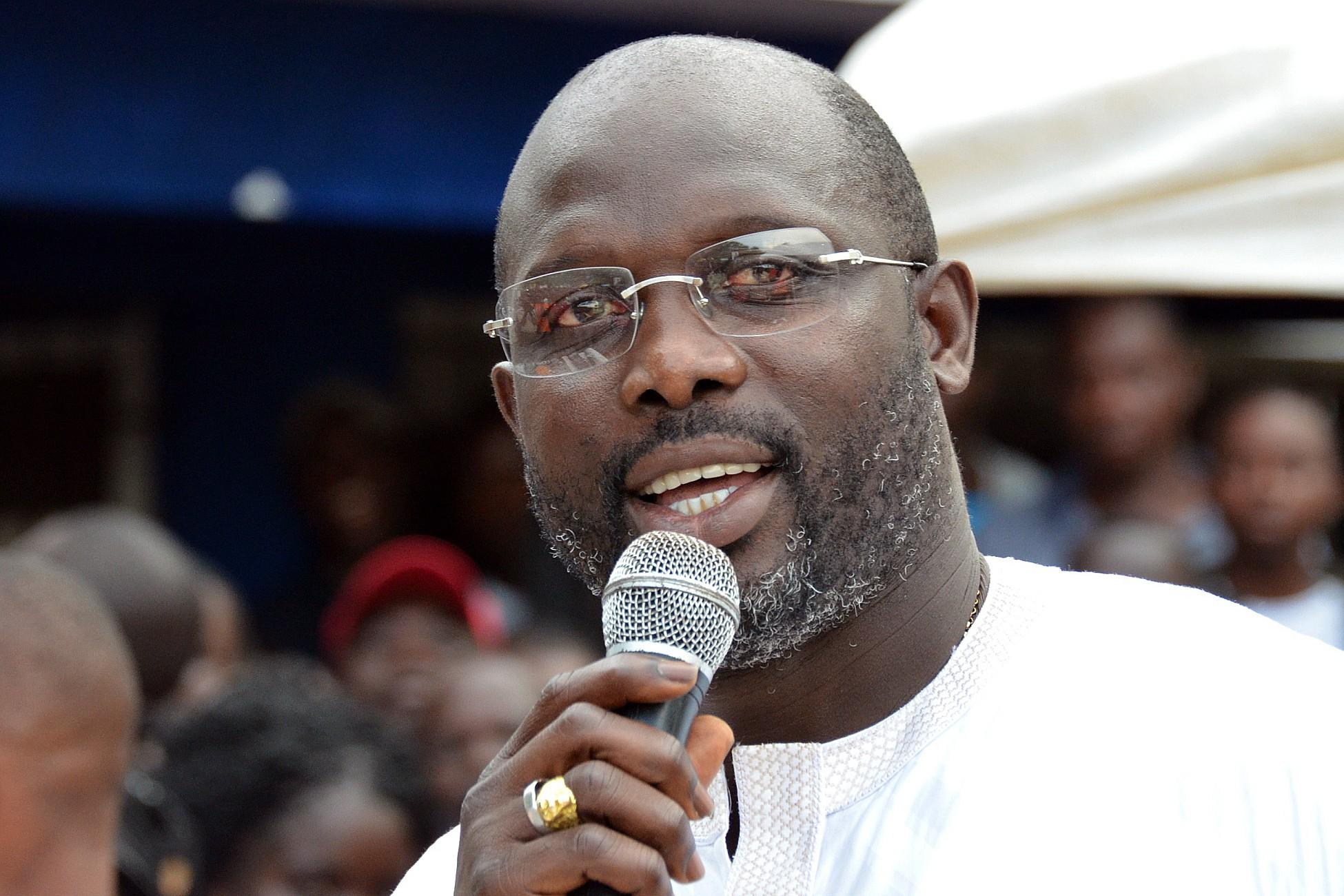 Président du Liberia