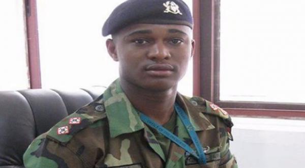Capitaine Maxwell Mahama Ghana