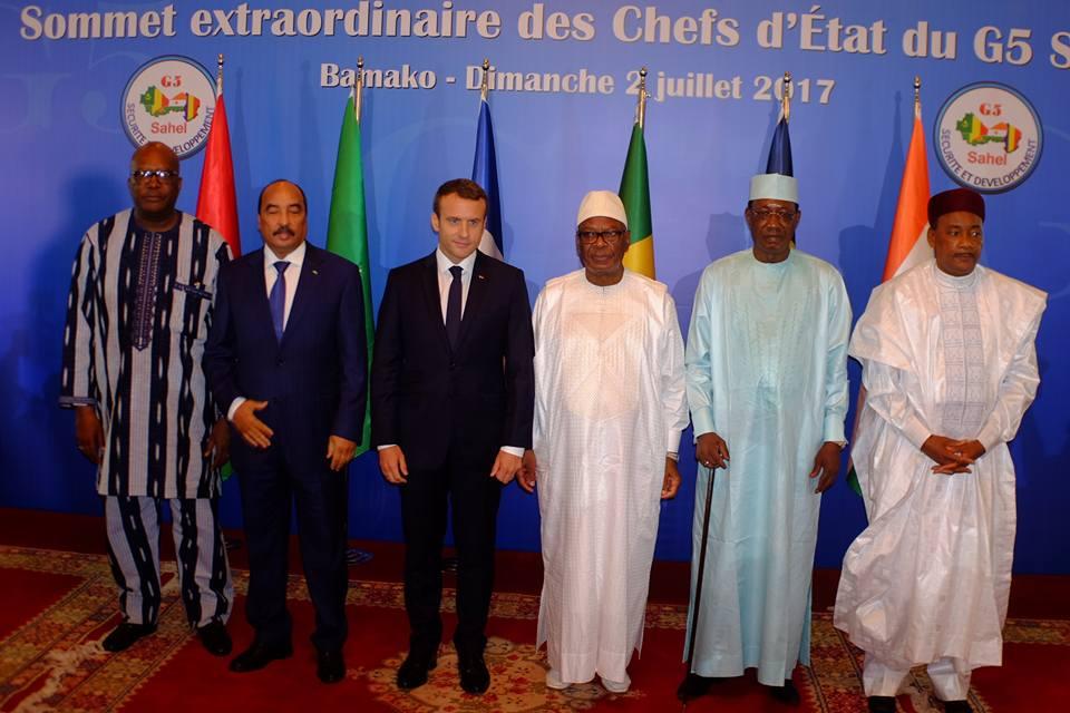 G5 Sahel Terrorisme Mauritanie