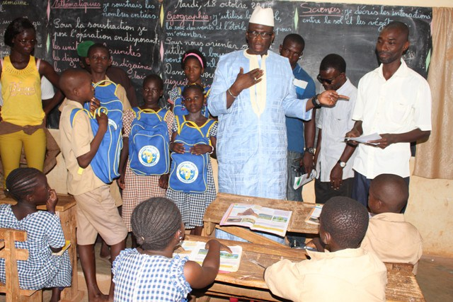Korhogo Côte d'Ivoire école