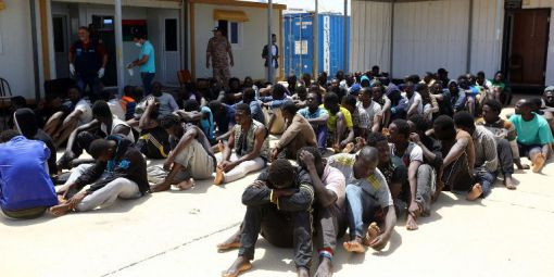 Esclaves Marché Libye Migrants