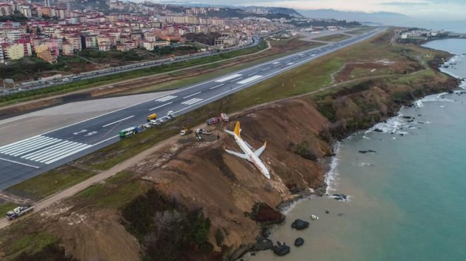 Turquie avion sortie de piste