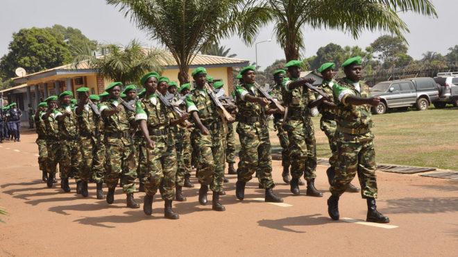 Minusca Centrafrique Côte d'Ivoire