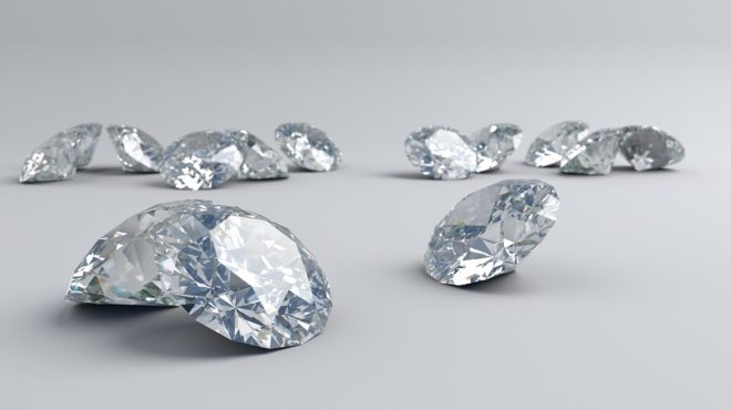 Sierra Leone mine de Koidu diamants
