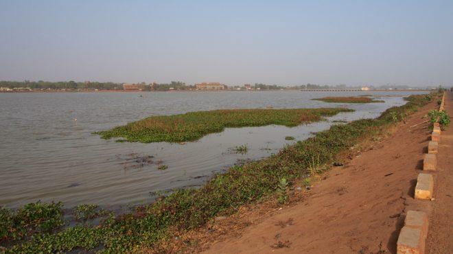 Burkina Ouagadougou barrage