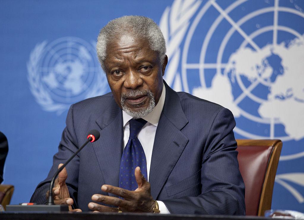 Kofi Annan Ghana ONU