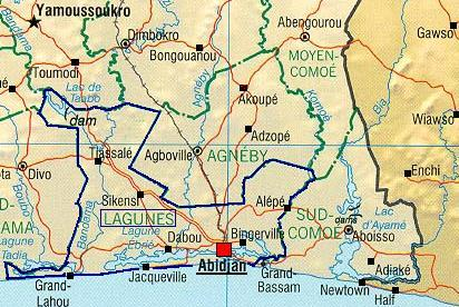 Jacqueville Côte d'Ivoire
