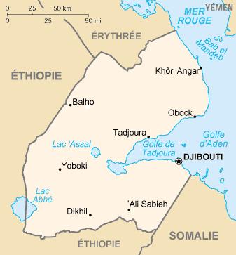 Djibouti Ethiopie gazoduc