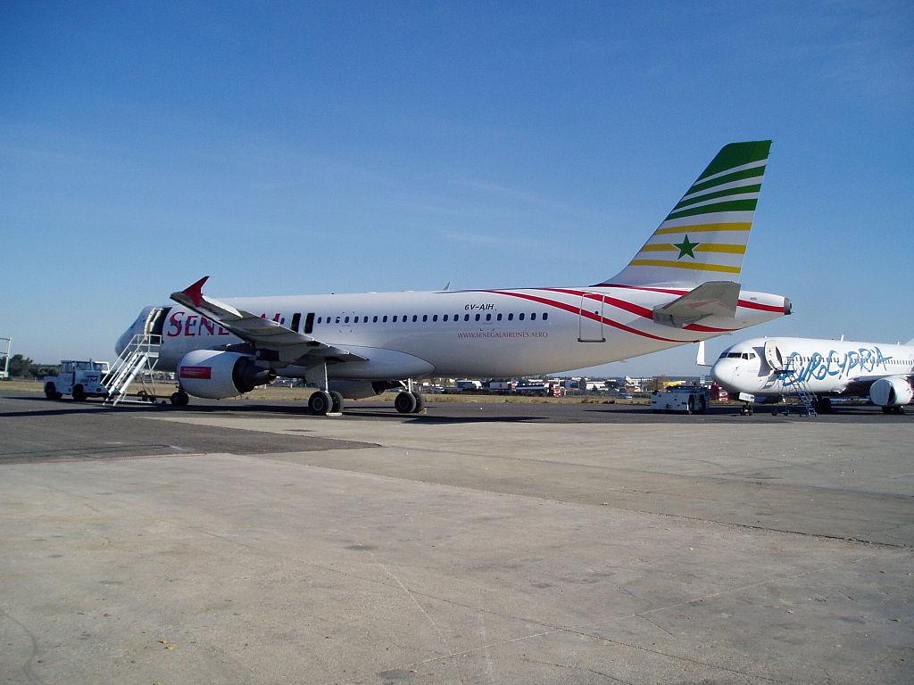 Avion de la compagnie Air Sénégal