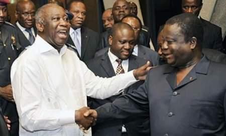 cote divoire laurent gbagbo henri konan bedie affichent leur union - TribuneOuest