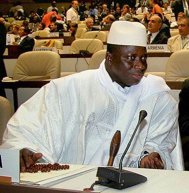 gambie parti lancien dictateur jammeh celui president sallient - TribuneOuest