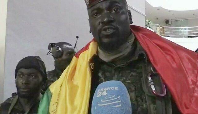 guinee chef putschistes tente rassurer apres capture president alpha conde - TribuneOuest